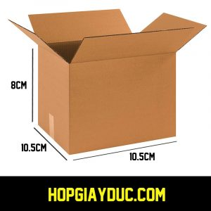 Hộp Carton COD B06 – 10.5x10.5x8 Cm