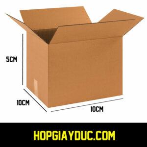Hộp Carton COD B02 – 10x10x5 Cm