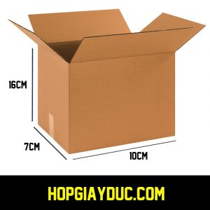 Hộp Carton COD B04 – 10x7x16 Cm