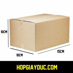 Hộp Carton COD B28 – 15x10x10 Cm