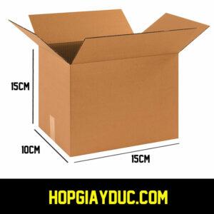 Hộp Carton COD B07 – 15x10x15 Cm