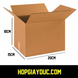Hộp Carton COD B10 – 20x15x10 Cm