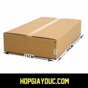 Hộp Carton COD B31 – 25x15x5 Cm