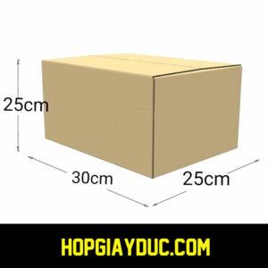 Hộp Carton COD B20 – 30x25x25 Cm