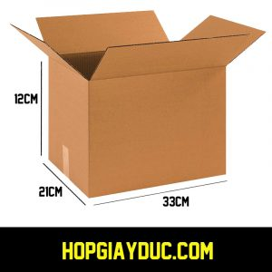 Hộp Carton COD B36 – 33x21x12 Cm