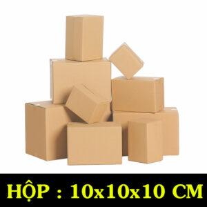 Hộp Carton COD B17 – 10x10x10 Cm