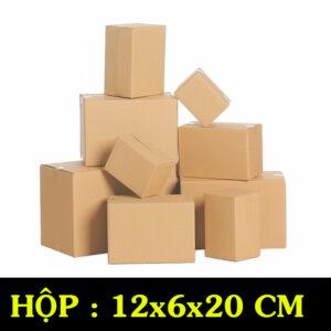 Hộp Carton COD B23 – 12x6x20 Cm