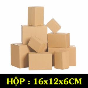 Hộp Carton COD B66– 16x12x6 Cm