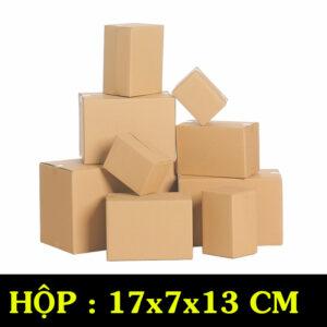 Hộp Carton COD B38 – 17x7x13 Cm