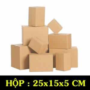 Hộp Carton COD B47 – 20x15x5 Cm