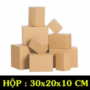 Hộp Carton COD B15 – 30x20x10 Cm